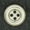 Ref000929 Botón Redondo en color plata