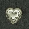 Ref000932 Botón Formas en color plata