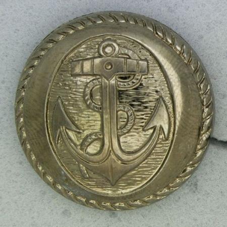 Ref001019 Botón Redondo en color bronce