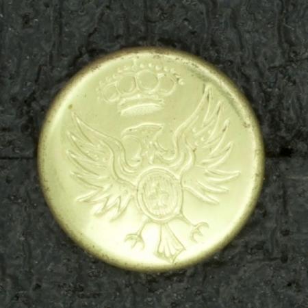Ref001020 Botón Redondo en color dorado