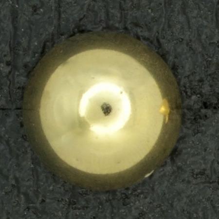 Ref001028 Botón Redondo en color dorado