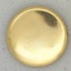 Ref001061 Botón Redondo en color dorado