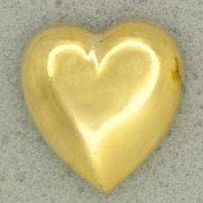 Ref001069 Botón Formas en color dorado