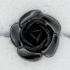 Ref000110 Botón Flor en color negro