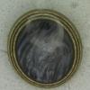 Ref001159 Botón Ovalado en colores azul marino y  amarillo y  dorado