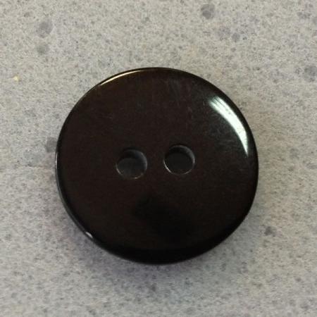 Ref000116 Botón Redondo en color negro