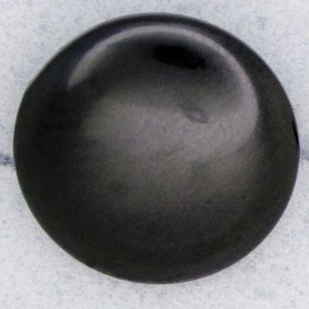 Ref000118 Botón Redondo en color negro