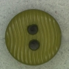Ref001231 Botón Redondo en colores verde y kaki