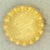 Ref001240 Botón Redondo en color dorado