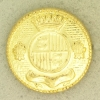 Ref001254 Botón Redondo en color dorado