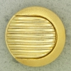 Ref001258 Botón Redondo en color dorado