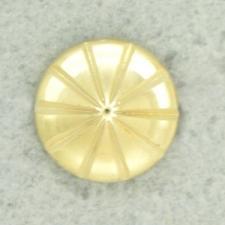 Ref001262 Botón Redondo en color dorado