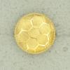 Ref001283 Botón Redondo en color dorado