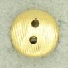 Ref001285 Botón Redondo en color dorado