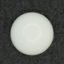 Ref001309 Botón Redondo en color blanco