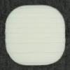 Ref001315 Botón Cuadrado en color blanco