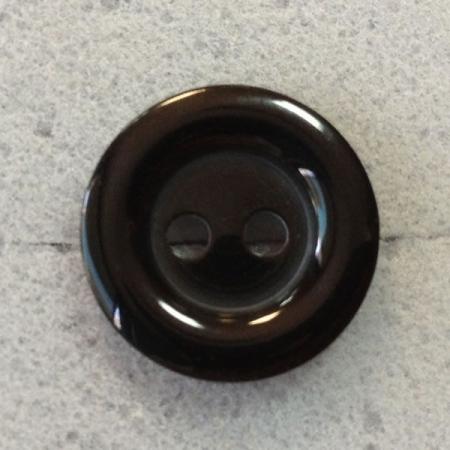 Ref000127 Botón Redondo en color negro