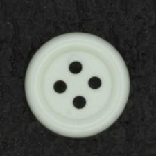Ref001366 Botón Redondo en color blanco