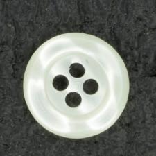 Ref001367 Botón Redondo en colores blanco y marfil