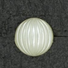 Ref001371 Botón Redondo en colores blanco y marfil