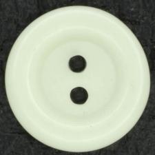 Ref001395 Botón Redondo en colores blanco y marfil