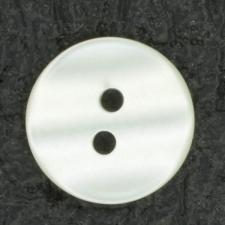 Ref001408 Botón Redondo en color blanco