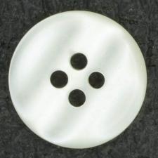 Ref001415 Botón Redondo en colores blanco y marfil