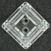 Ref001428 Botón Cuadrado en color transparente