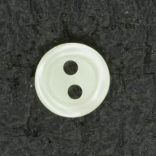 Ref001437 Botón Redondo en colores blanco y beige y marfil
