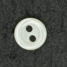 Ref001438 Botón Redondo en colores blanco y beige y marfil