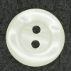 Ref001440 Botón Redondo en colores blanco y beige y marfil