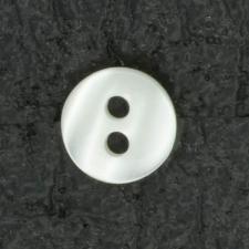 Ref001442 Botón Redondo en colores blanco y beige y marfil