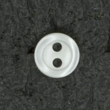 Ref001482 Botón Redondo en color blanco
