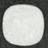 Ref001493 Botón Cuadrado en color blanco