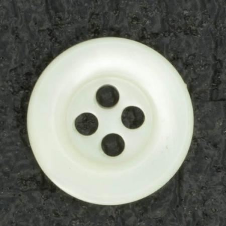 Ref001513 Botón Redondo en color nacar