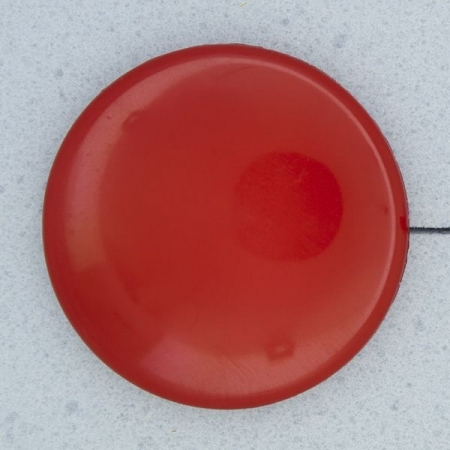 Ref000148 Botón Redondo en color rojo