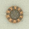 Ref001535 Botón Redondo en color bronce