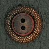 Ref001604 Botón Redondo en colores cobre y marron y bronce