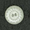 Ref001605 Botón Redondo en colores transparente y plata