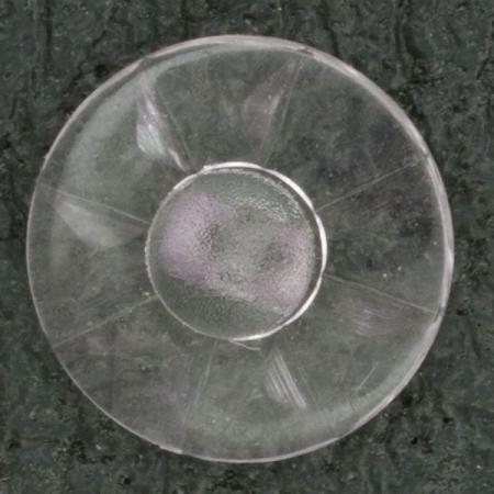 Ref001611 Botón Redondo en colores transparente y lila