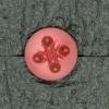 Ref001686 Botón Redondo en color burdeos