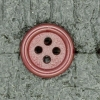 Ref001689 Botón Redondo en colores burdeos y  morado