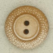 Ref001704 Botón Redondo en colores marron y  plata