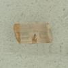 Ref001806 Botón Tubular en colores marron y  transparente