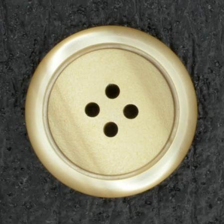 Ref001831 Botón Redondo en colores marron y  beige