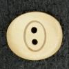 Ref001833 Botón Ovalado en color marron