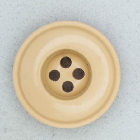 Ref001848 Botón Redondo en color marron