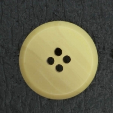 Ref001866 Botón Redondo en colores marron y  beige