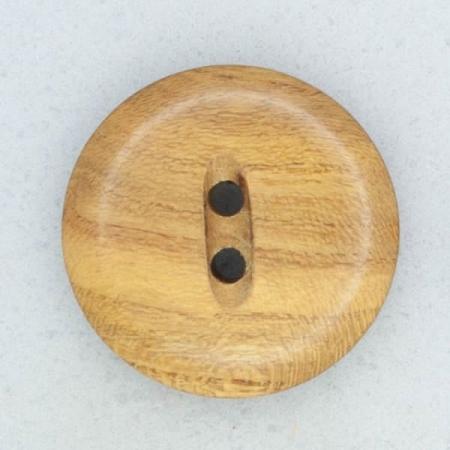 Ref001875 Botón Redondo en colores marron y  madera