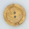 Ref001876 Botón Redondo en colores marron y  madera